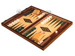 picture of Oak Backgammon Set - Large - Green (3 of 12)
