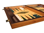 picture of Oak Backgammon Set - Large - Green (5 of 12)