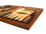 picture of Oak Backgammon Set - Large - Green (6 of 12)