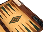 picture of Oak Backgammon Set - Large - Green (9 of 12)