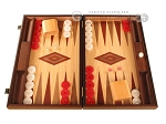 Oak Backgammon Set - Large - Red - Item: 2860