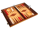 picture of Oak Backgammon Set - Large - Red (2 of 12)