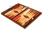 picture of Oak Backgammon Set - Large - Red (3 of 12)