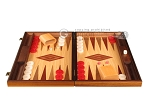 picture of Oak Backgammon Set - Large - Red (4 of 12)
