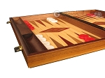 picture of Oak Backgammon Set - Large - Red (5 of 12)