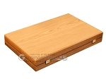 picture of Oak Backgammon Set - Large - Red (10 of 12)