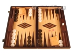 picture of Olive Root Backgammon Set - Large - Oak Field (1 of 12)