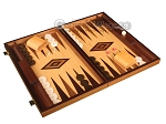 picture of Olive Root Backgammon Set - Large - Oak Field (2 of 12)