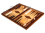 picture of Olive Root Backgammon Set - Large - Oak Field (3 of 12)
