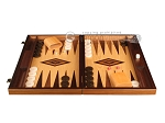 picture of Olive Root Backgammon Set - Large - Oak Field (4 of 12)