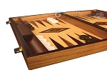 picture of Olive Root Backgammon Set - Large - Oak Field (5 of 12)