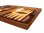 picture of Olive Root Backgammon Set - Large - Oak Field (6 of 12)