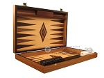 picture of Olive Root Backgammon Set - Large - Oak Field (7 of 12)