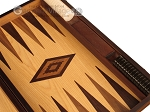 picture of Olive Root Backgammon Set - Large - Oak Field (9 of 12)