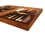 picture of Olive Root Backgammon Set - Large - Black Field (6 of 12)