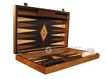 picture of Olive Root Backgammon Set - Large - Black Field (7 of 12)