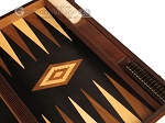 picture of Olive Root Backgammon Set - Large - Black Field (9 of 12)
