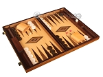 picture of White Zebrano Backgammon Set - Large - Oak Field (2 of 12)