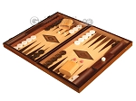 picture of White Zebrano Backgammon Set - Large - Oak Field (3 of 12)