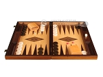 picture of White Zebrano Backgammon Set - Large - Oak Field (4 of 12)