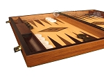 picture of White Zebrano Backgammon Set - Large - Oak Field (5 of 12)