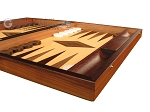 picture of White Zebrano Backgammon Set - Large - Oak Field (6 of 12)