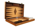 picture of White Zebrano Backgammon Set - Large - Oak Field (7 of 12)