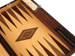 picture of White Zebrano Backgammon Set - Large - Oak Field (9 of 12)