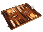 picture of White Zebrano Backgammon Set - Large - Walnut Field (2 of 12)