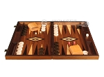 picture of White Zebrano Backgammon Set - Large - Walnut Field (4 of 12)