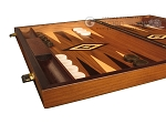 picture of White Zebrano Backgammon Set - Large - Walnut Field (5 of 12)