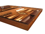picture of White Zebrano Backgammon Set - Large - Walnut Field (6 of 12)