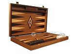 picture of White Zebrano Backgammon Set - Large - Walnut Field (7 of 12)