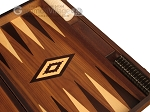 picture of White Zebrano Backgammon Set - Large - Walnut Field (9 of 12)