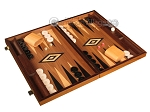 picture of Walnut Backgammon Set - Large - Black (2 of 12)