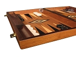 picture of Walnut Backgammon Set - Large - Black (5 of 12)