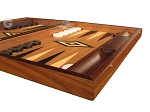 picture of Walnut Backgammon Set - Large - Black (6 of 12)