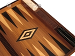 picture of Walnut Backgammon Set - Large - Black (9 of 12)
