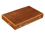 picture of Walnut Backgammon Set - Large - Black (10 of 12)