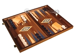 picture of Walnut Backgammon Set - Large - Blue (2 of 12)