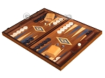 picture of Walnut Backgammon Set - Large - Blue (3 of 12)