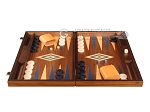 picture of Walnut Backgammon Set - Large - Blue (4 of 12)