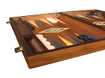 picture of Walnut Backgammon Set - Large - Blue (5 of 12)