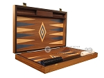 picture of Walnut Backgammon Set - Large - Blue (7 of 12)