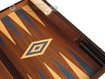 picture of Walnut Backgammon Set - Large - Blue (9 of 12)