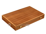 picture of Walnut Backgammon Set - Large - Blue (10 of 12)