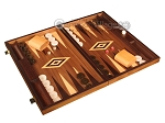picture of Walnut Backgammon Set - Large - Brown (2 of 12)
