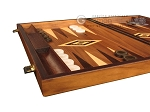 picture of Walnut Backgammon Set - Large - Brown (5 of 12)