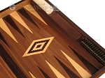 picture of Walnut Backgammon Set - Large - Brown (9 of 12)