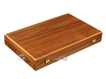 picture of Walnut Backgammon Set - Large - Brown (10 of 12)
